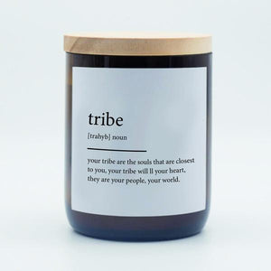 The Commonfolk Collective Quote Soy Candle - Tribe