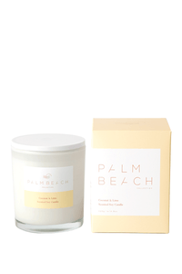 Palm Beach Coconut and Lime soy candle 420g