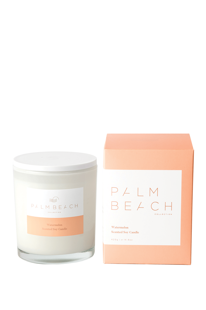 Palm Beach Watermelon soy candle 420g