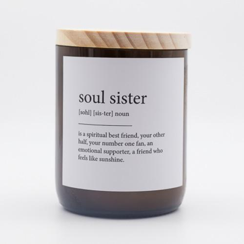The Commonfolk Collective Quote Soy Candle - Soul Sister