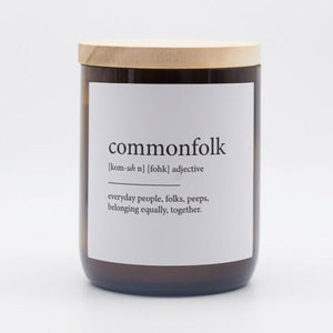 The Commonfolk Collective Quote Soy Candle - Commonfolk
