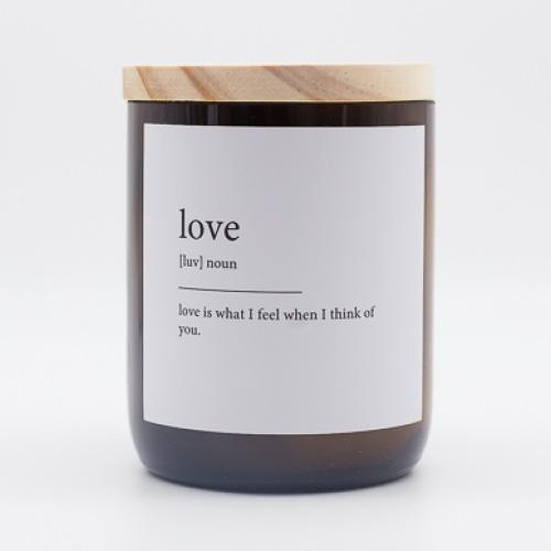 The Commonfolk Collective Quote Soy Candle - Love