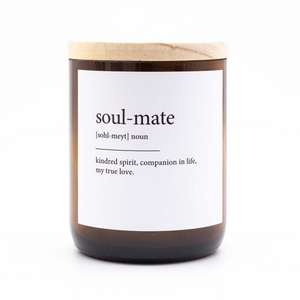 The Commonfolk Collective Quote Soy Candle - Soul Mate