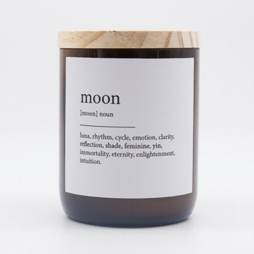 The Commonfolk Collective Quote Soy Candle - Moon