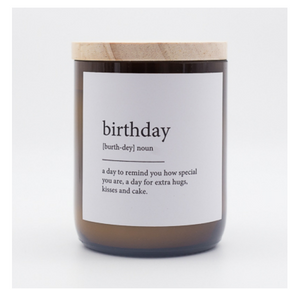 The Commonfolk Collective Quote Soy Candle - Birthday
