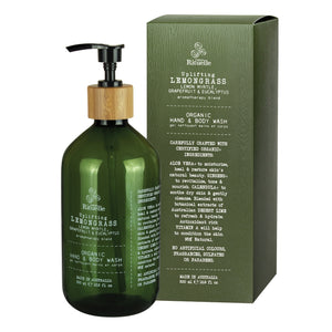 Urban Rituelle Organic Hand & Body Wash - Lemongrass, Lemon Myrtle, Grapefruit & Eucalyptus