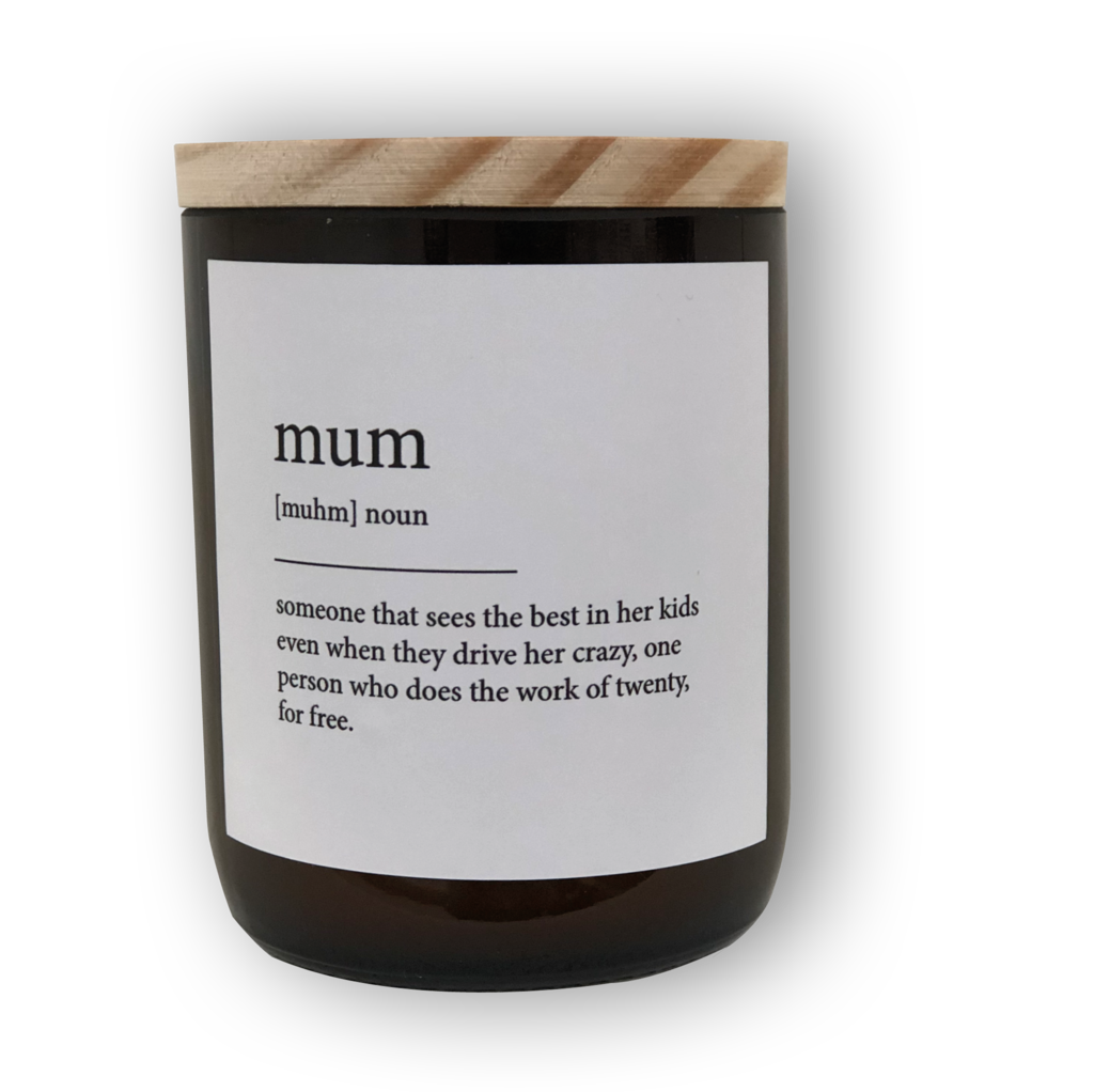 The Commonfolk Collective Quote Soy Candle - Mum