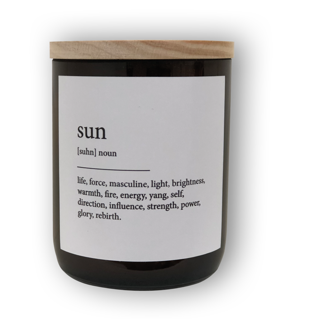 The Commonfolk Collective Quote Soy Candle - Sun