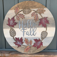 Load image into Gallery viewer, Fall Wreath Sign