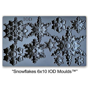 "IOD DECOR MOULDS ""Snowflakes""-limited edition"