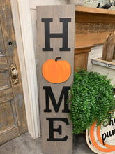 Load image into Gallery viewer, WELCOME OR HOME PORCH SIGN WORKSHOP-3D (not stencilled)
