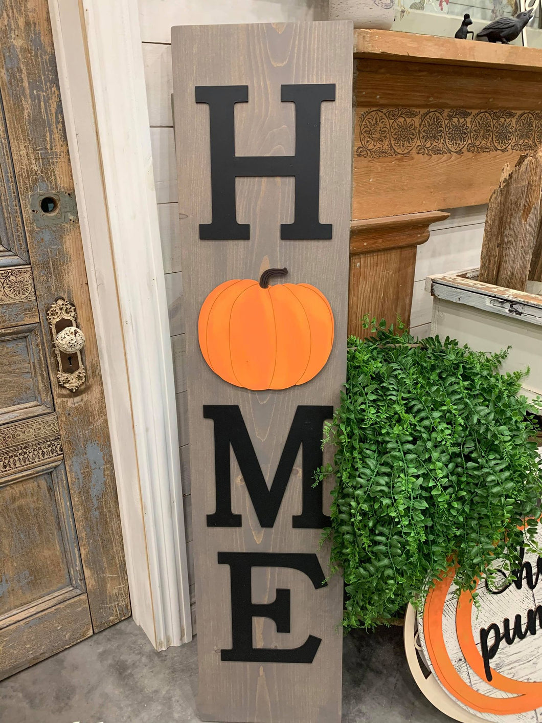 WELCOME OR HOME PORCH SIGN WORKSHOP-3D (not stencilled)