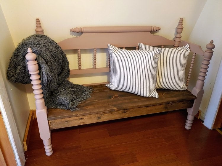 Stephanie Headboard Bench----SOLD