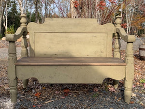 Completed Headboard Bench-AVAILABLE