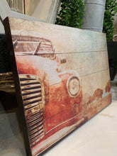 Load image into Gallery viewer, Decoupage on Slat boards(Rustic Style Sign) March 21-1pm
