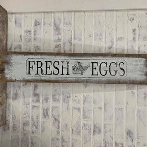 SIGN FRESH EGGS
