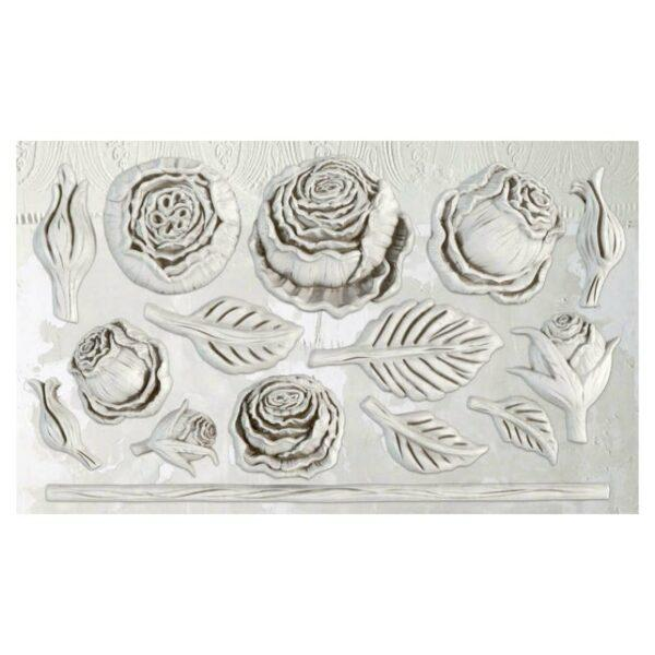 IOD DECOR MOULDS HEIRLOOM ROSES