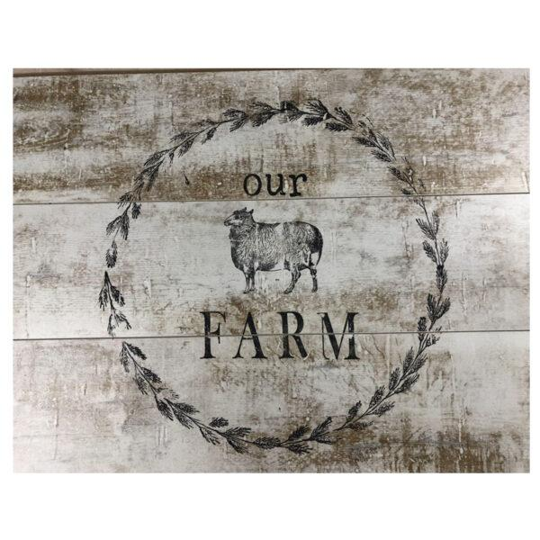 IOD STAMP FARM ANIMALS 12