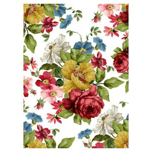 "IOD TRANSFER WALL FLOWER 24""  X 33""---8-SHEETS"