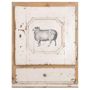 "IOD STAMP FARM ANIMALS 12""X12"""