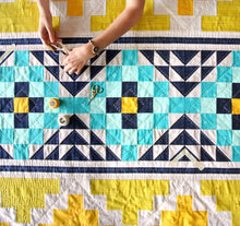 Load image into Gallery viewer, Mayan Mosaic Quilt Pattern