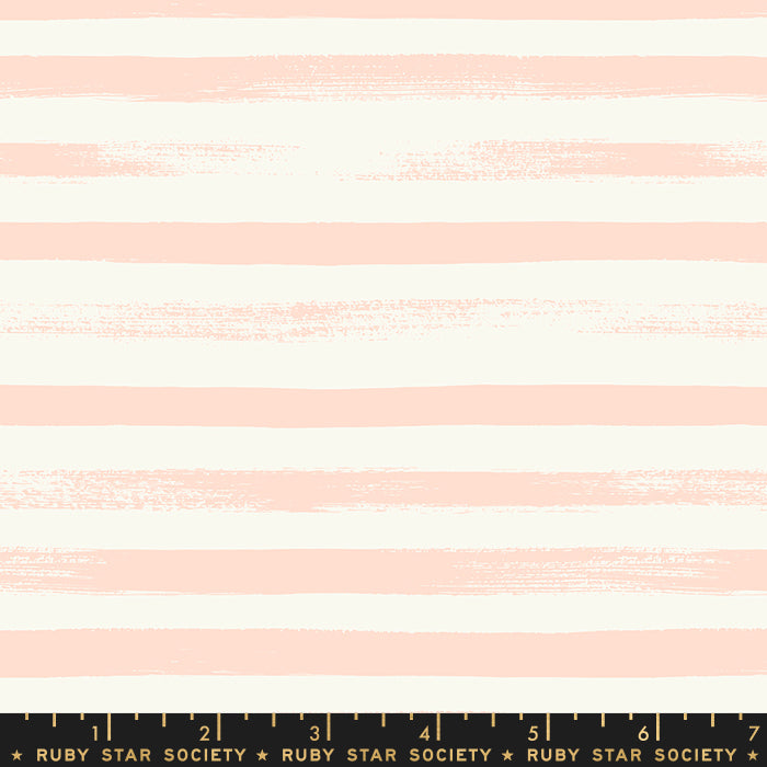 Ruby Star Society Stripe in Pale Peach