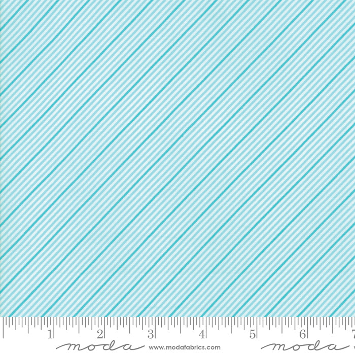Coledale Stripes in Turquoise