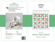 Load image into Gallery viewer, Holly Jolly Quilt Pattern