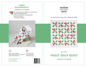 Holly Jolly Quilt Pattern