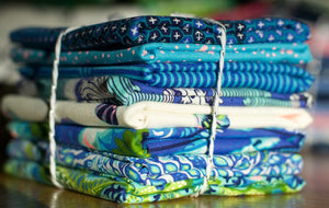 Zuma by Tula Pink Blue Fat Quarter Bundle