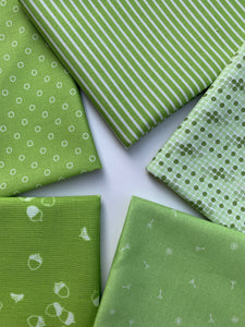 Green Fat Quarter Bundle