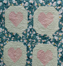 Load image into Gallery viewer, I HEART YOU QUILT KIT