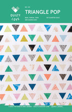 Load image into Gallery viewer, Triangle Pop Quilt Pattern
