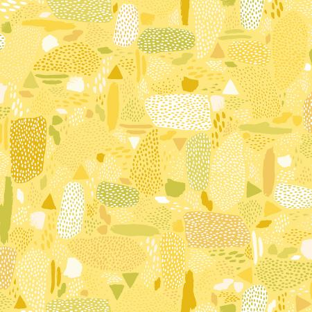 Pebbles in Yellow