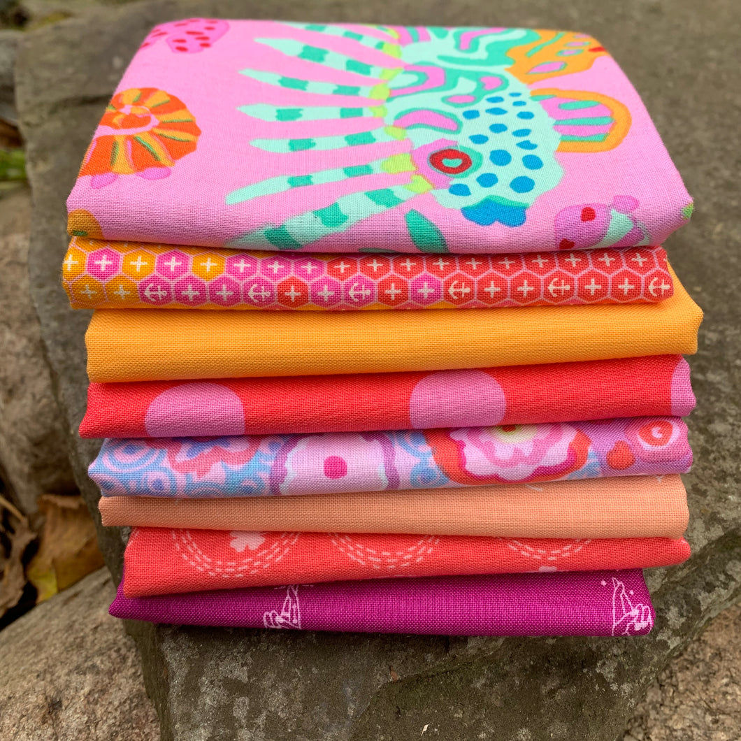 Wild Pink Fat Quarter Bundle