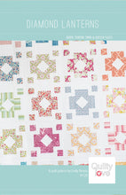 Load image into Gallery viewer, Diamond Lanterns Quilt Pattern