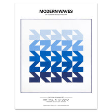 Load image into Gallery viewer, Modern Waves Quilt Pattern