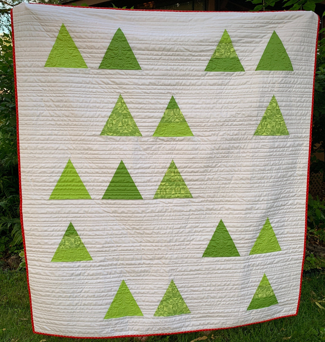 Tree Farm Quilt Kit