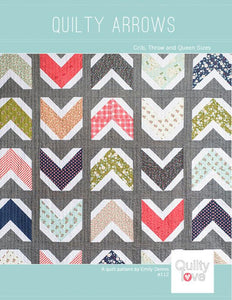 Quilty Arrows Quilt Pattern