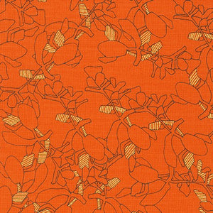 Collection CF Flora in Orangeade with Gold Metallic