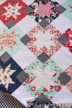 Load image into Gallery viewer, North Star Quilt Pattern