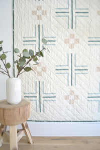 Mudroom Quilt by Sewn Handmade