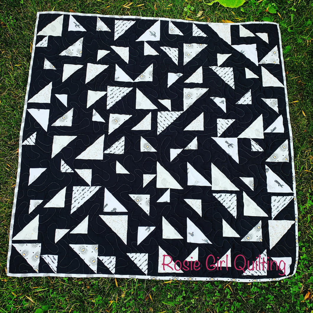 Pacha Triangular Quilt Bundle from Homemade Emily Jane