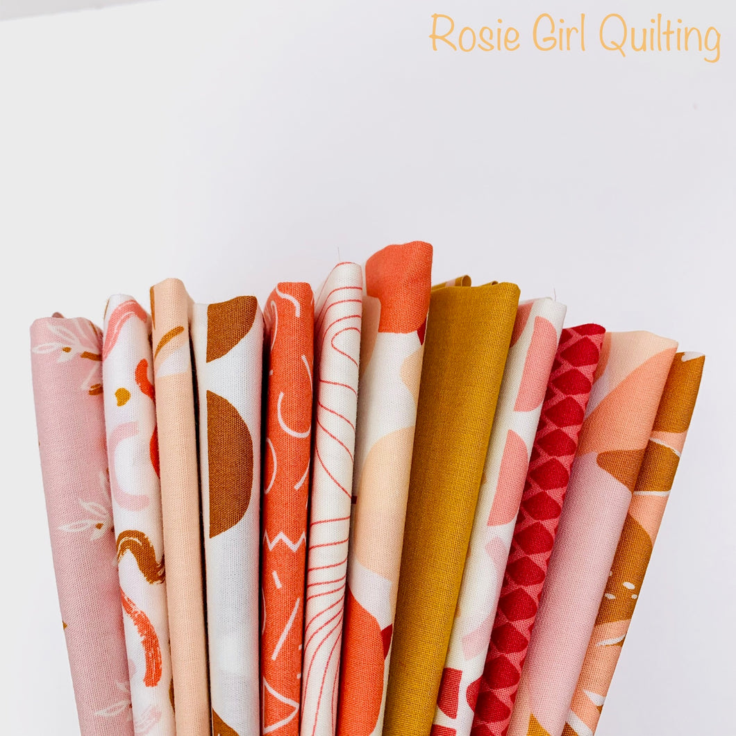Terrakotta Fat Quarter Bundle