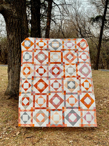 Prairie Diamonds Sunset Quilt Bundle