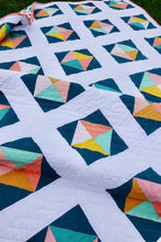 Load image into Gallery viewer, Solitaire Quilt Throw Size Bundle by Homemade Emily Jane