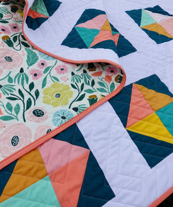 Solitaire Quilt Throw Size Bundle by Homemade Emily Jane