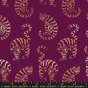 Airflow Tiger In The Taiga in Purple Velvet