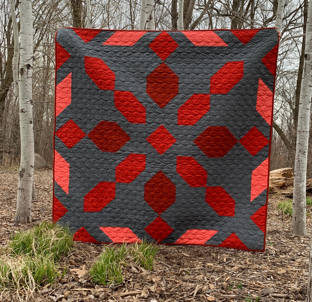 Ruby Red Connector Quilt Bundle