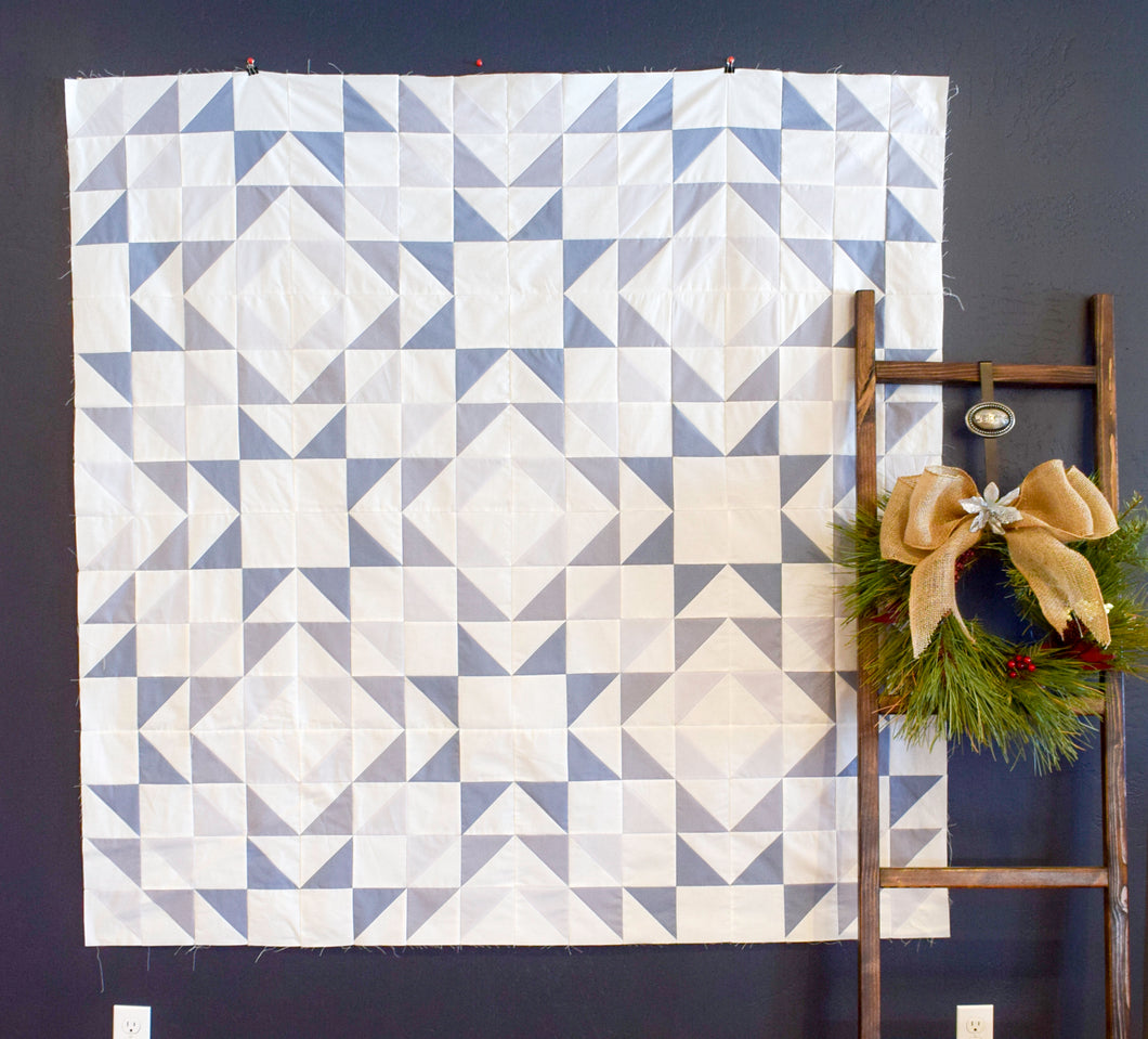 Shades of Winter Entropy Quilt Bundle